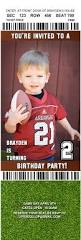 sports ticket invitation brayden u0027s big game 2 year old birthday party a dollop of my life