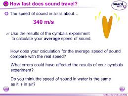 how does sound travel images How fast does sound travel in air jpg