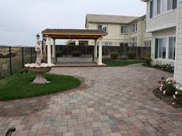 Patio Pavers Concrete Paver Patios The Concrete Network