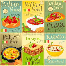 illustration cuisine food menu card with traditional meal cuisine