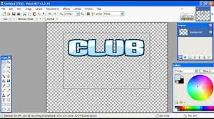 Where Can I Make A How To Make The Club Penguin Logo On Paint Net Beginer Youtube