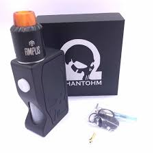 phantohm kit with phantohm bottom feeder squonk mechanical box mod and less ampus rda phantohm