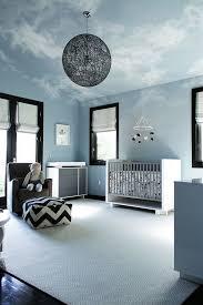 chambre bébé nuage chambre de bebe nuages ideeco
