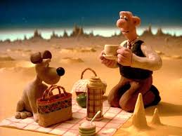 wallace gromit moon books film