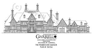 manor house plans garrell associates inc pembrooke manor house plan 06104 front