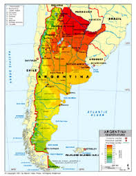 physical map of argentina argentinanatalia thematic maps