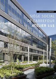 siege social carrefour massy les éditions de sud aménagement atelier 115 sud