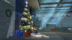 christmas tree light game residence xmas soon in game warface