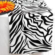 black and white table runners cheap zebra safari table runner black white efavormart