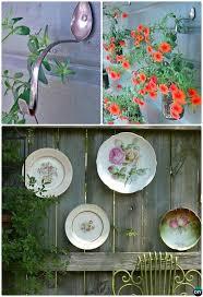 Garden Fence Decor Backyard Garden Fence Decoration Makeover Diy Ideas