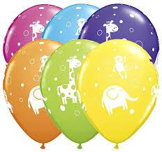 circus balloon jungle balloons animal 6 jungle circus balloon bouquet kids