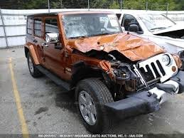 wrecked jeep wrangler for sale salvage jeep wrangler unlimited suvs for sale and auction