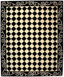 Black And White Checkered Rug Rug Hk711a Chelsea Area Rugs By Safavieh