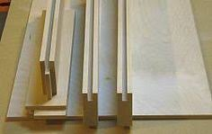 Shaker Cabinet Door Construction Building Cabinet Doors Checking The Fit Of The Center Panel In
