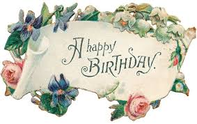free birthday cards free clip from vintage crafts archive free
