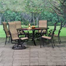 Sling Patio Dining Set Florence Cast Aluminum Sling Patio Dining Sets American Sale