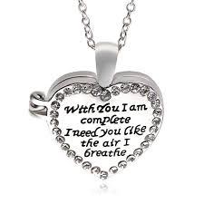 personalized heart locket personalized heart locket necklace push button locket