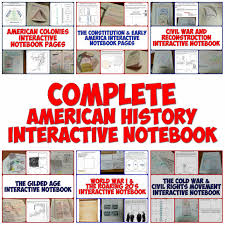 complete american history interactive notebook bundle graphic