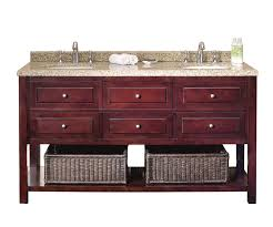 ove decors danny 60 bathroom double vanity with brown peppered