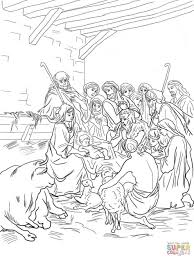 Ministries U2013 Holy Family Church Christmas Shepherds Coloring Pages Cheminee Website