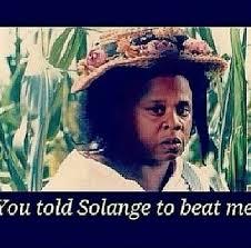 Solange Memes - beyonce jay z solange fight