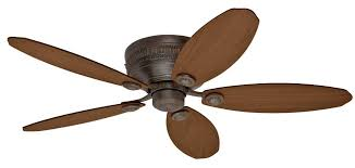 hunter 52 inch ceiling fan with light rustic ceiling fans flush mount home designs wwkuswandoro flush