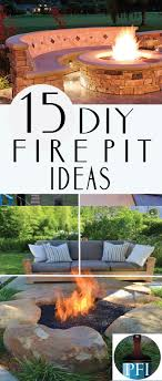 Make Your Own Firepit 15 Diy Pit Ideas For Your Backyard Backyard Summer And Yards