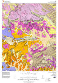 Topographic Map Of Utah by Geologic Maps U2013 Utah Geological Survey