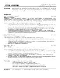 project manager sample resume format test manager resume template free resume example and writing bartender manager resume example