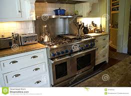modern country kitchen stock photo image 40408556
