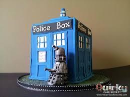 tardis cake topper dr who tardis cake the cake society
