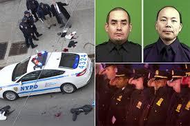 gunman executes 2 nypd cops in garner u0027revenge u0027 new york post