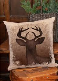 Stag Head Home Decor Decor Exquisite Deer Pillow Immaculate Stag Head Pillows