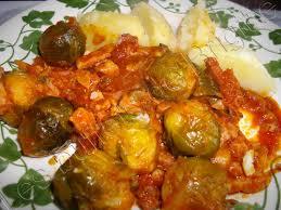 cuisiner des choux de bruxelles frais choux de bruxelles a la tomate tous a table
