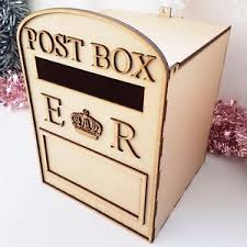 Wooden Wedding Gifts Wooden Post Box Ebay