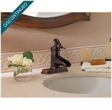 Rustic Faucets Bathroom by Rustic Bronze Ashfield Single Control Centerset Bath Faucet F