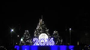eve drop christmas lights the edgewater 2016 new year s eve ball drop youtube