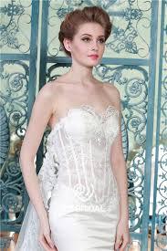 satin mermaid wedding dress see through wedding dress wedding