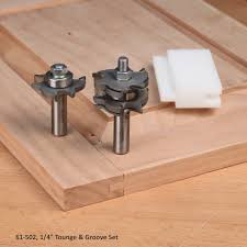 tongue and groove table saw tongue groove router bit sets for cabinet doors door making