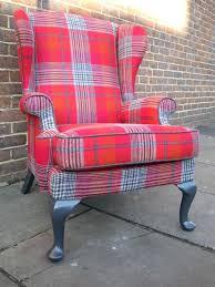 what is tartan plaid plaid wing chair re upholstered tartan wing chair upholstery