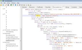decompile apk decompilation jeb decompiler in