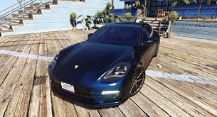 Porsche Panamera Turbo - porsche panamera turbo u002717 add on replace animated gta5