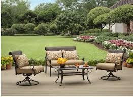 walmart com better homes and gardens riverwood 4 piece patio