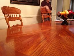 nail polish remover spill on table woodworking talk