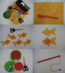 Paper Craft Steps - bookhoucraftprojects project 36 fishing