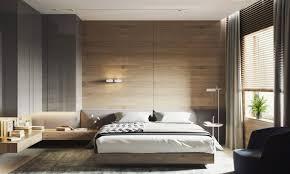 chambre a coucher parentale attractive deco chambre parentale 7 mur en bois pour une