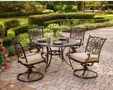 Aluminium Patio Sets Cast Aluminum Patio Furniture Ebay