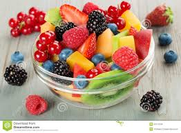bowl of fruits bowl of fruit cocktail stock photo image of breakfast 55772246