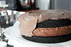 chocolate nutella cheesecake cake gotta get baked