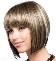 short side swept layered sleek long bob feather hairstyle